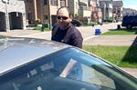 Suspect in harassment case